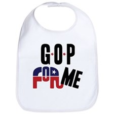 GOP For Me Bib