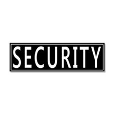 Security Car Magnet 10 x 3