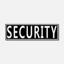 Security Car Magnet 10 x 3
