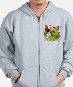 Old English Games Zip Hoodie