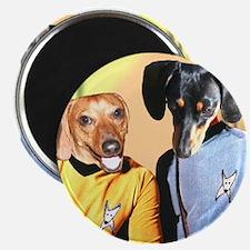Dog Star Dachshunds Magnet