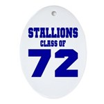 NMHS Class Of 1972 Ornament (Oval)