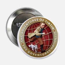 "The Adventures Of Tintin 2.25"" Button"