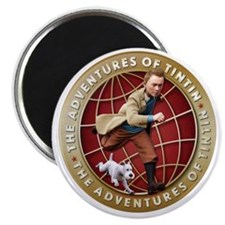 Adventures of Tintin Magnet