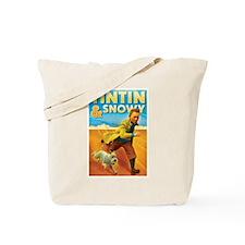 Tintin & Snowy Tote Bag