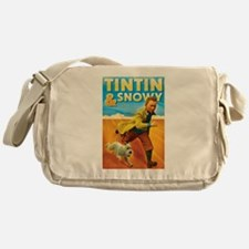 Tintin & Snowy Messenger Bag