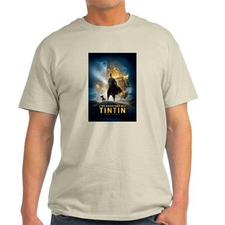 Tintin Movie Light T-Shirt