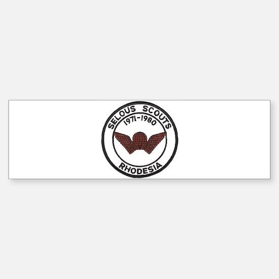 Selous Scouts Sticker (Bumper)