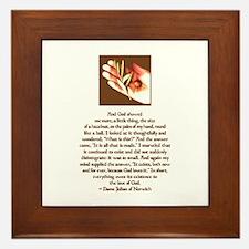 Hazelnut Framed Tile