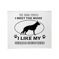 I like my German Shepherd Throw Blanket