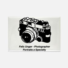 Felix Unger Photographer Rectangle Magnet