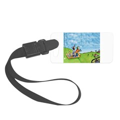 Winter Snow Luggage Tag