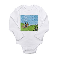 Winter Snow Long Sleeve Infant Bodysuit