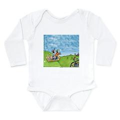 Winter Snow Long Sleeve Infant Bodysuit