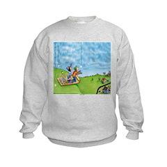 Winter Snow Kids Sweatshirt