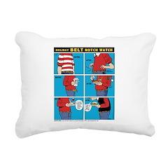 Holiday Diet Rectangular Canvas Pillow