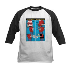 Holiday Diet Kids Baseball Jersey
