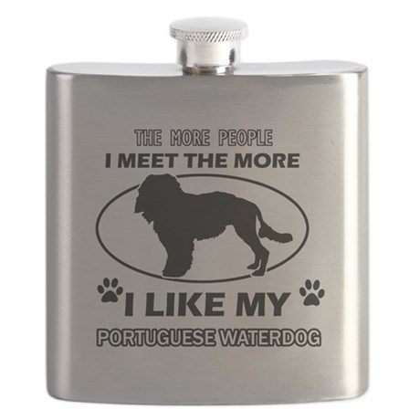I like my Portuguese Waterdog Flask