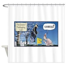 Thanksgiving Turkey Scary Shower Curtain