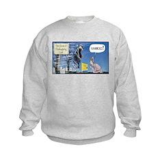 Thanksgiving Turkey Scary Sweatshirt