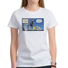 Thanksgiving Turkey Scary Women's T-Shirt