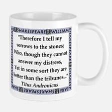 Therefore I Tell My Sorrows Mugs