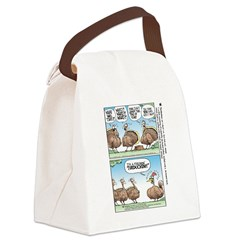 Thanksgiving Turkey Turducken Canvas Lunch Bag