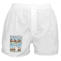 Thanksgiving Turkey Turducken Boxer Shorts