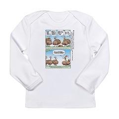 Thanksgiving Turkey Turducken Long Sleeve Infant T