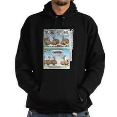Thanksgiving Turkey Turducken Hoodie (dark)