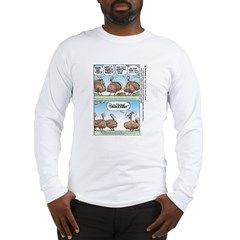 Thanksgiving Turkey Turducken Long Sleeve T-Shirt