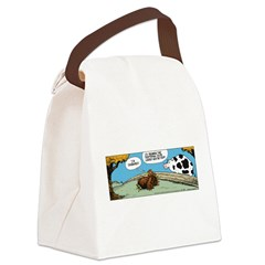 Thanksgiving Turkey Tired Canvas Lunch Bag