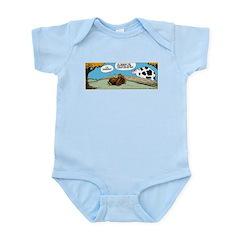 Thanksgiving Turkey Tired Infant Bodysuit