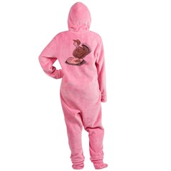 Thanksgiving Turkey Scale Footed Pajamas