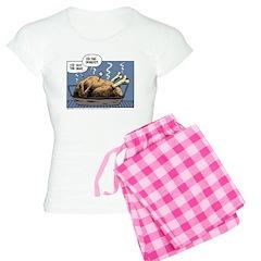 Thanksgiving Turkey Heat Women's Light Pajamas
