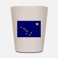 Alaska flag Shot Glass
