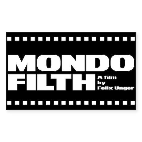Mondo Filth - Rectangle Sticker