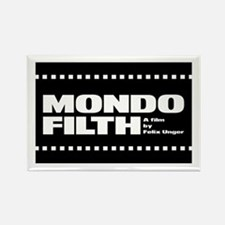 Mondo Filth - Rectangle Magnet