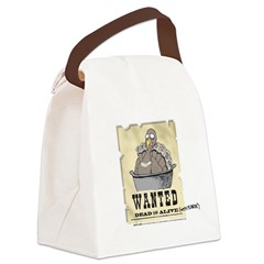 Thanksgiving Turkey Wanted Canvas Lunch Bag