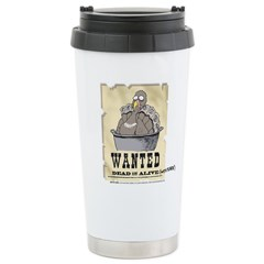 Thanksgiving Turkey Wanted Travel Mug