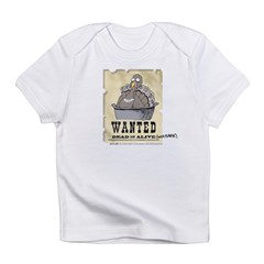 Thanksgiving Turkey Wanted Infant T-Shirt