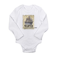 Thanksgiving Turkey Wanted Long Sleeve Infant Body