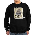Thanksgiving Turkey Wanted Sweatshirt (dark)