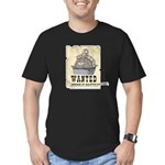 Thanksgiving Turkey Wanted Men's Fitted T-Shirt (d
