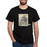 Thanksgiving Turkey Wanted Dark T-Shirt