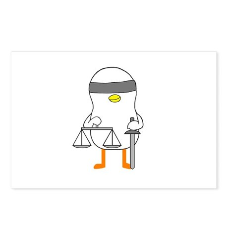 Lady Justice Postcards (Package of 8)