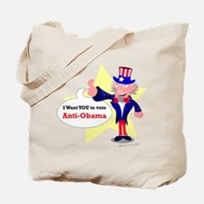 anti-obama Tote Bag