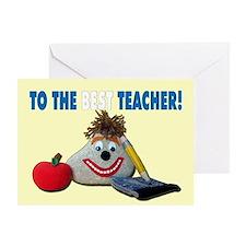 Teacher Appreciation Day - You ROCK! Greeting Card