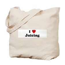 I Love Juicing Tote Bag