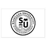 Sarcasm University (S) Large Poster